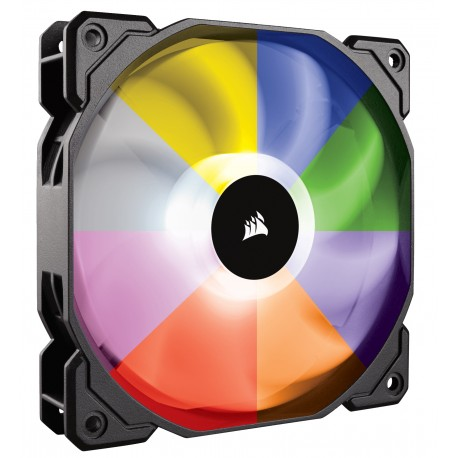 HD140 RGB LED High Performance PWM Fan — Twin Pack with Controller