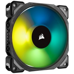 ML140 PRO RGB LED PWM Premium Magnetic Levitation Fan — Twin Fan Pack with Lighting Node PRO