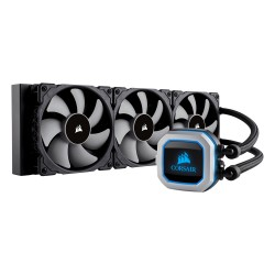 H150i PRO RGB 360mm Liquid CPU Cooler