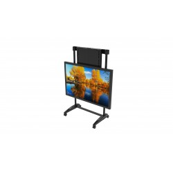 Screen Height Adjustable Mobile Trolley Mount