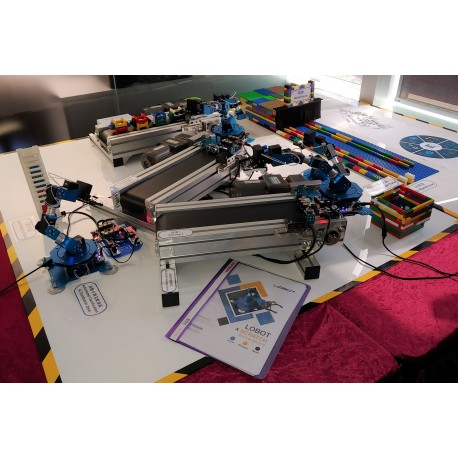 Simulated Industry 4.0 Smart Factory STEM Learning Kit