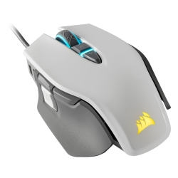 Corsair M65 RGB ELITE Tunable FPS Gaming Mouse — White