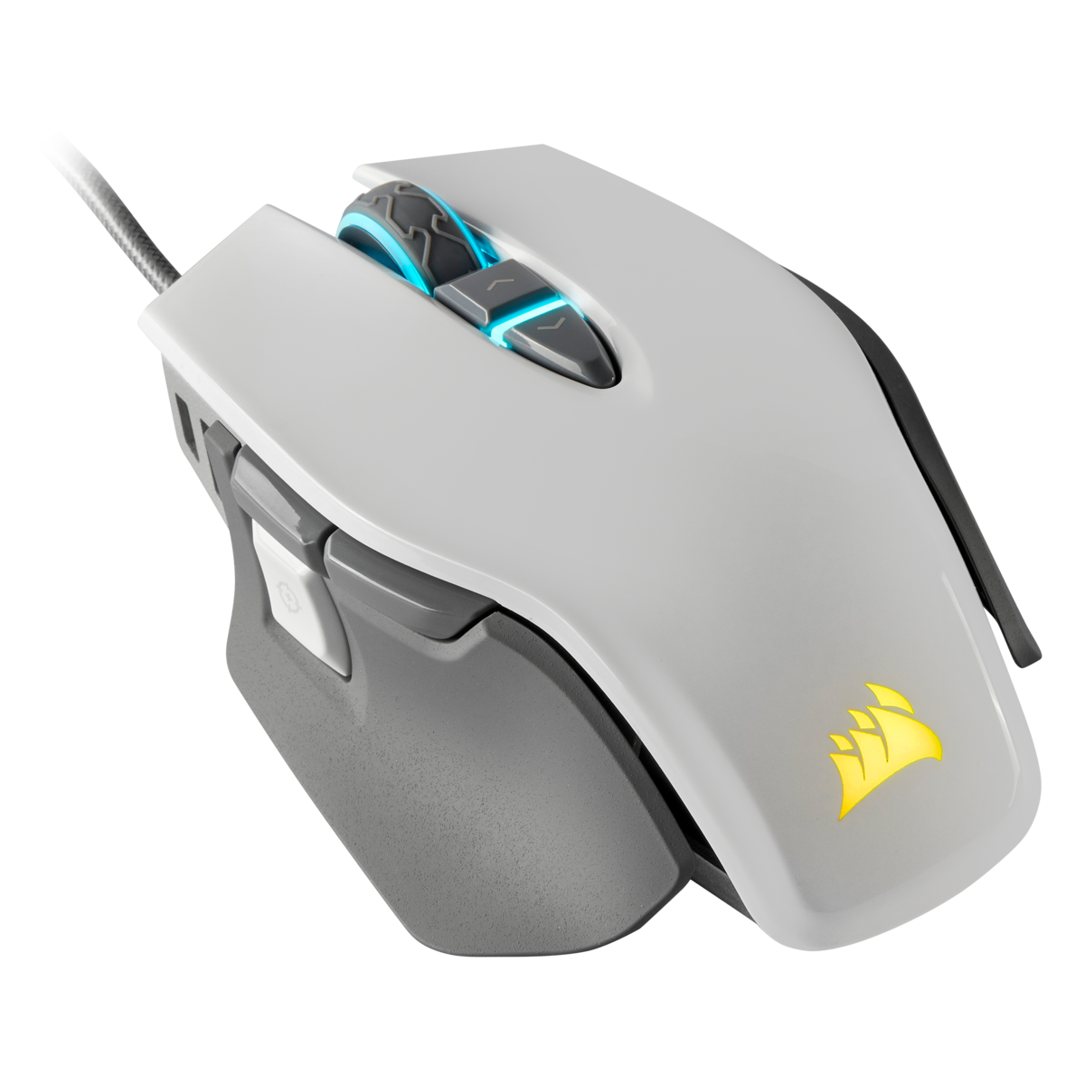 Corsair M65 RGB ELITE Tunable FPS Gaming Mouse — White - Felton Distribution