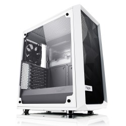 Fractal Design Meshify C White - Glass