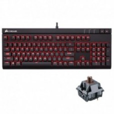 Corsair STRAFE RED LED Mechanical Gaming Keyboard